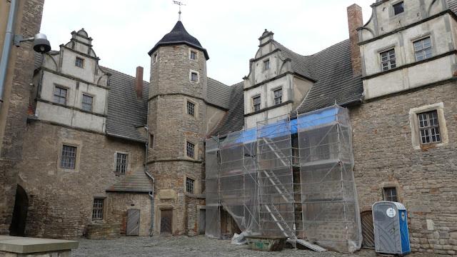 Schloss Plötzkau - Innenhof