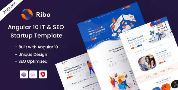 Best IT & SEO Startup Template