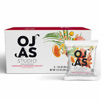 OJAS studio Date & Grain Bites, Cardamom, Cinnamon, and Walnut, 8 Bags