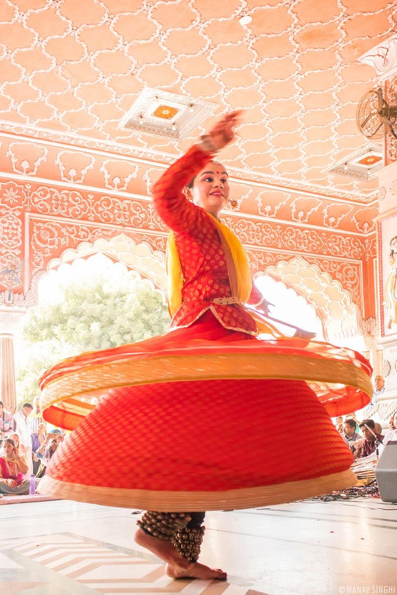 Harshita Sharma kathak dancer Jaipur