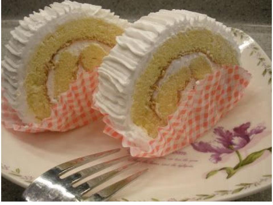 vanilla flavor swiss roll cake recipe