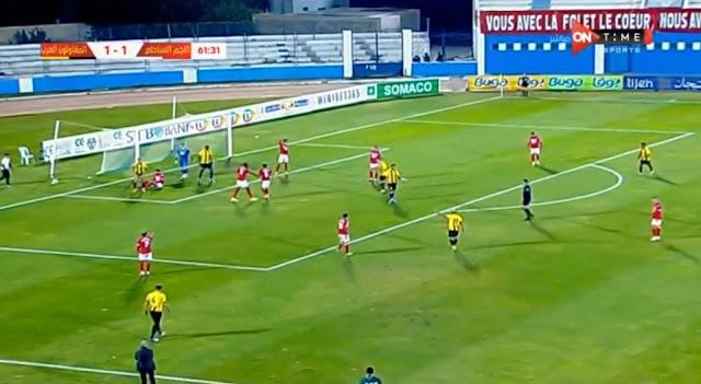 ملخص مباراة النجم الرياضي الساحلي والمقاولون العرب (2-1) اليوم في كأس الكونفيدرالية الأفريقية