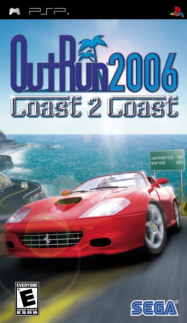 Outrun 2006 - Coast 2 Coast  - PSP - ISO Download