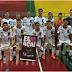 Futsal masculino de Jundiaí vence Dois Córregos pela 2ª fase dos Jogos Infantis