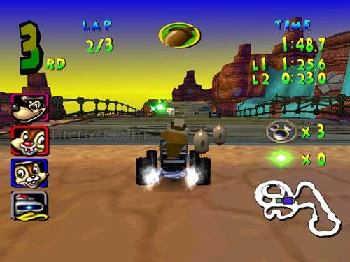 Walt Disney World Quest Magical Racing Tour PC Gameplay