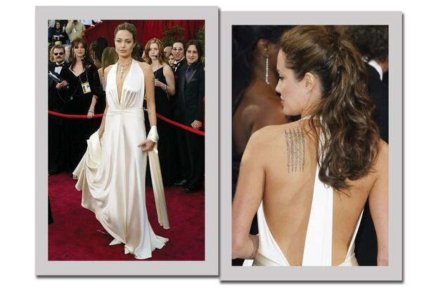 Cinco looks icônicos da atriz Angelina Jolie no Oscar