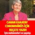 Canan Karatay Koronavirüs için reçete yazdı. Hangi besinler virüsten koruyor ?