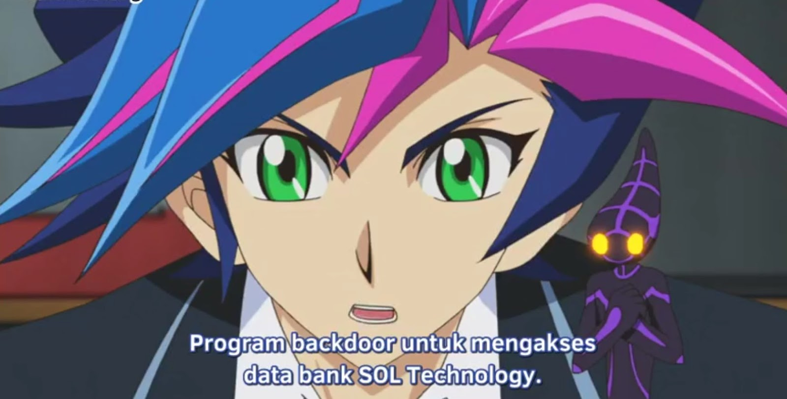 yu-gi-oh! vrains episode 14 subtitle indonesia - black avelic