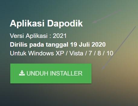 Rilis Terbaru Download Aplikasi Dapodik Versi 2021