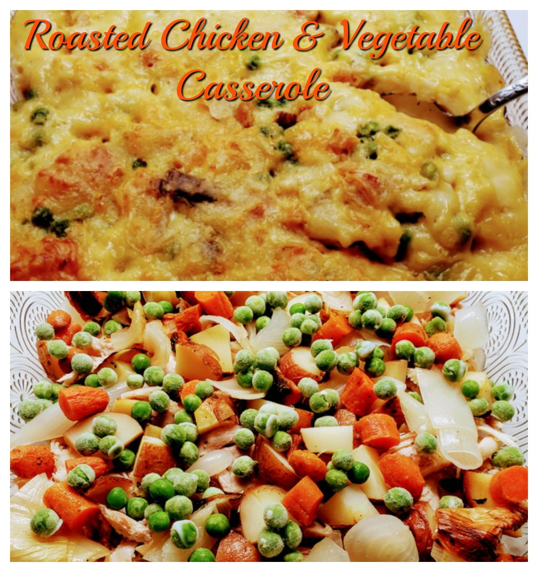 Roasted Chiken & Vegetable Casserole