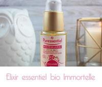 Elixir essentiel bio Immortelle Rose musquée