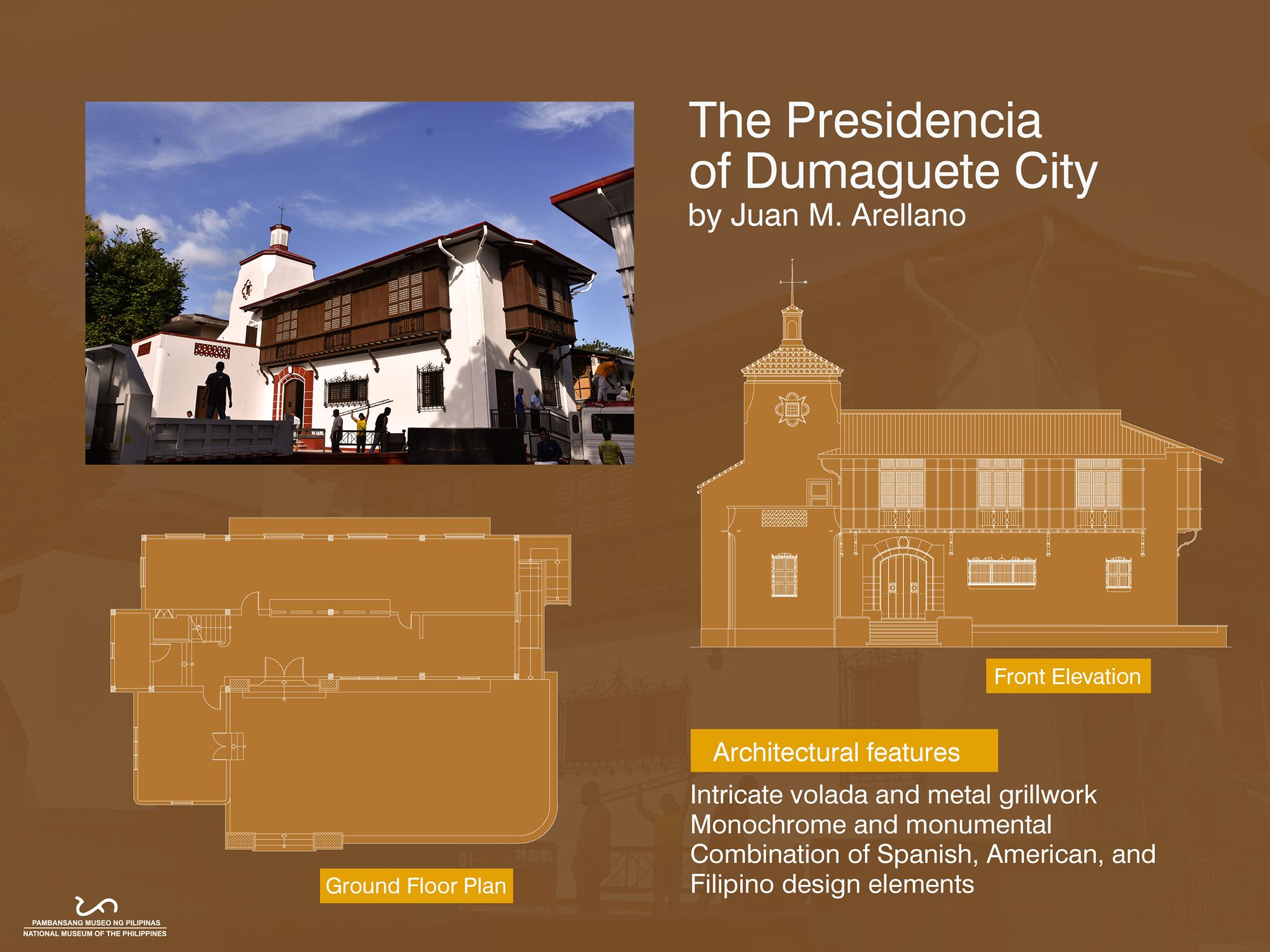 Old Presidencia Building of Dumaguete City