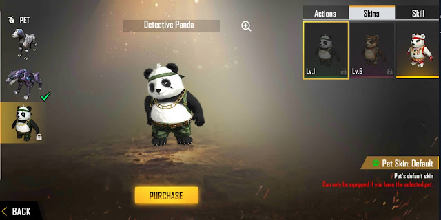 Cara Mendapatkan Pet Skin Hip Hop Panda Event Air Drop Free Fire
