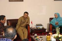 Undang Bupati, Gubernur, Wagub dan Sekda Bahas Infrastruktur di Bima
