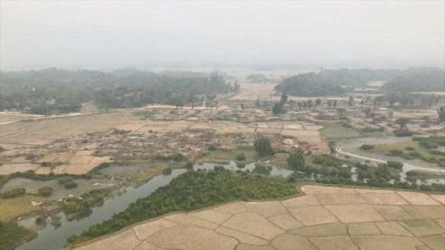 Myanmar destruye cientos de aldeas de rohingyas en Rajine