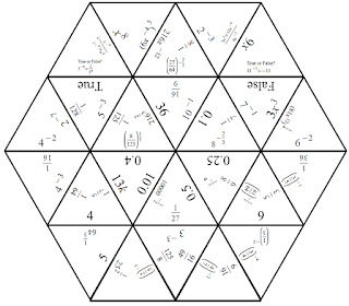 Negative and Rational Exponents Puzzle ~ TenTors Math
