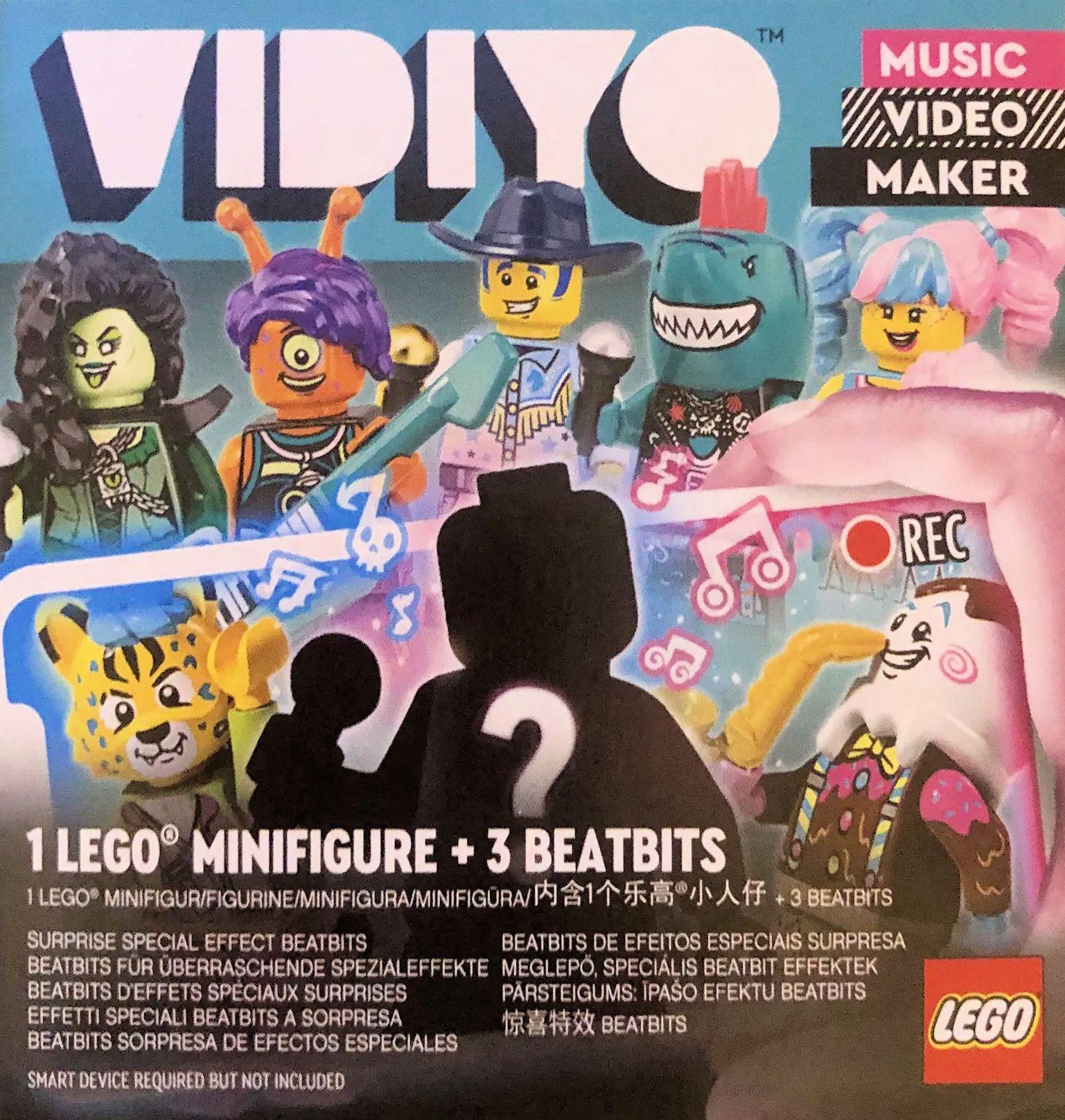 レゴ音楽シリーズVIDIYOからミニフィグセットバンドメート発売?(2021)