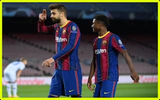Barcelona and Dynamo Kiev