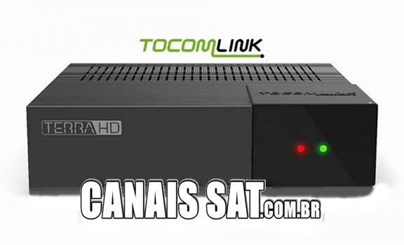 Tocomlink Terra HD Plus Atualização DRMCAM V3.007 - 28/12/2020
