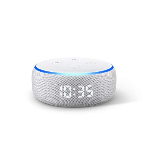 SEcho Dot (3rd Gen) - Smart speaker with clock and Alexa - Sandstone