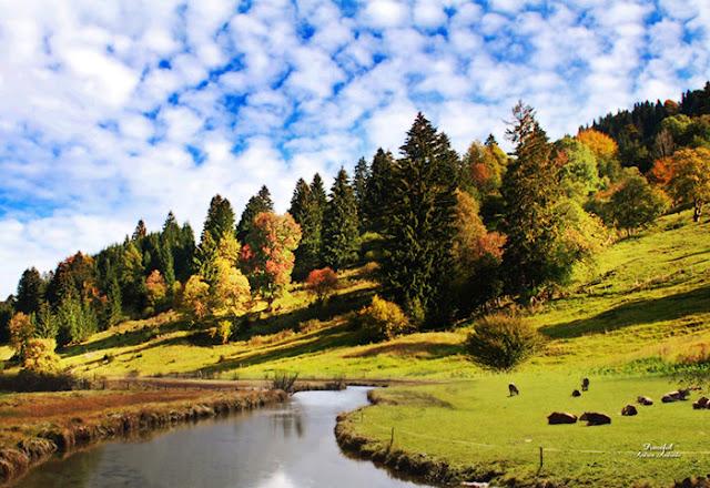 sky hill clouds nature wallpaper full hd