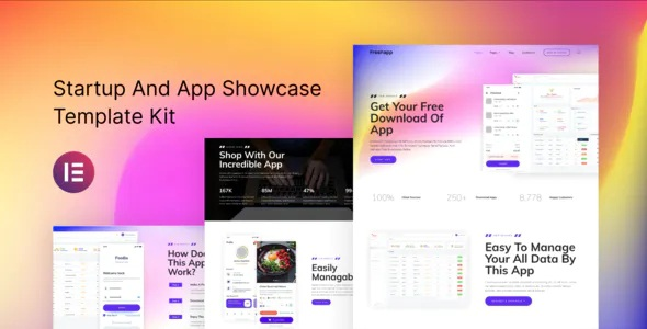 Best Startup and Showcase Elementor Template Kit
