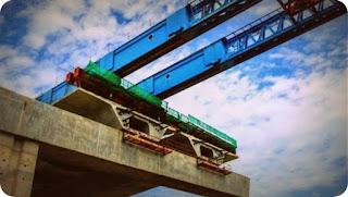 Pembangunan Jembatan Holtekamp Capai 16 Persen