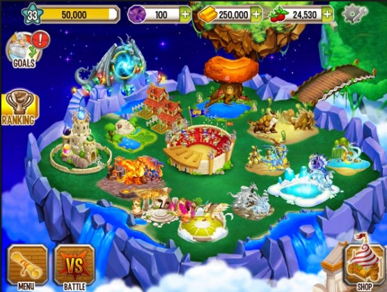 dragon city android offline