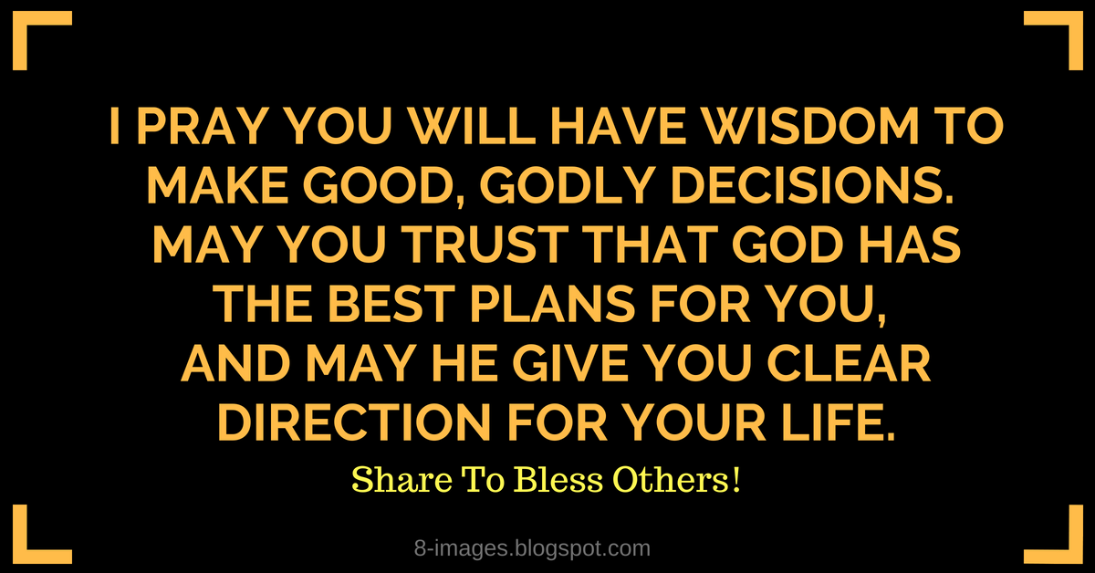 Prayer for Making Godly Decisions