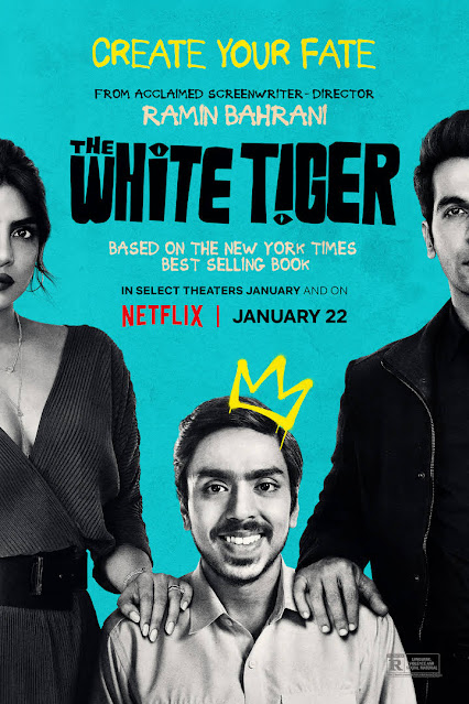 The White Tiger (2021) is an English and Hindi language Indian crime drama film written and directed by Ramin Bahrani. Adarsh Gourav has acted in his first leading role as well as Priyanka Chopra and Rajkumar Rao. Actually, the film is made based on the same name novel of Aravind Adiga. The film 'The White Tiger' is released on 6th January, 2021 in Las Vegas and on 22nd January, 2021 worldwide. The film is about Balram a young man who comes from a poor village and eradicates his poverty using his wit.