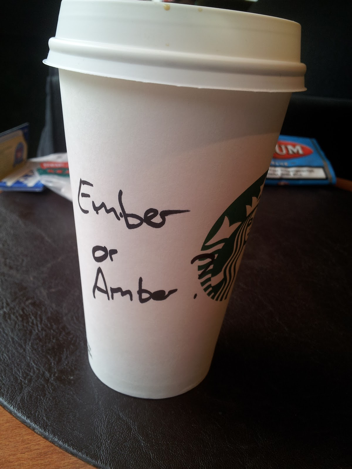 Amber In Austria The One Time Starbucks Almost Got My