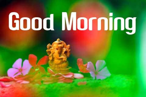 ganpati bappa good morning images