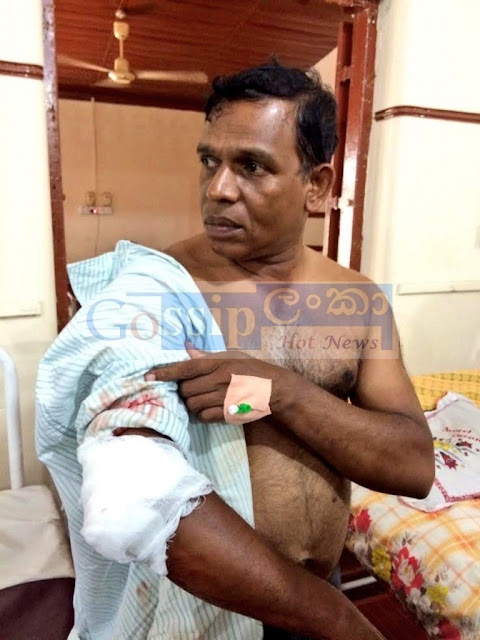 policemen attacked in Jaffna