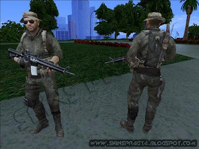 GTA SA - Skin Mactavish From Call Of Duty Modern Warfare 3