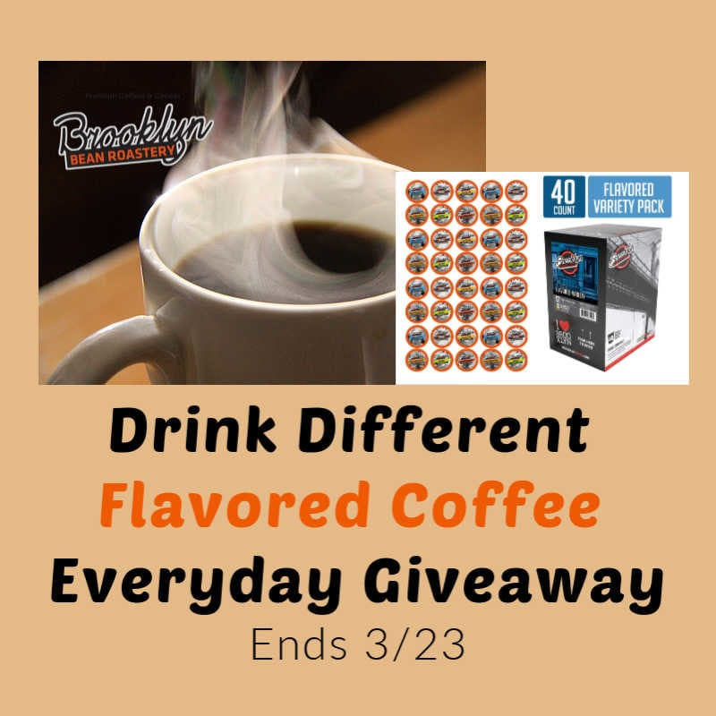Drink Different Flavored Coffee Giveaway