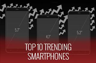 Top 10 Smartphone Terlaris Di Tahun 2015