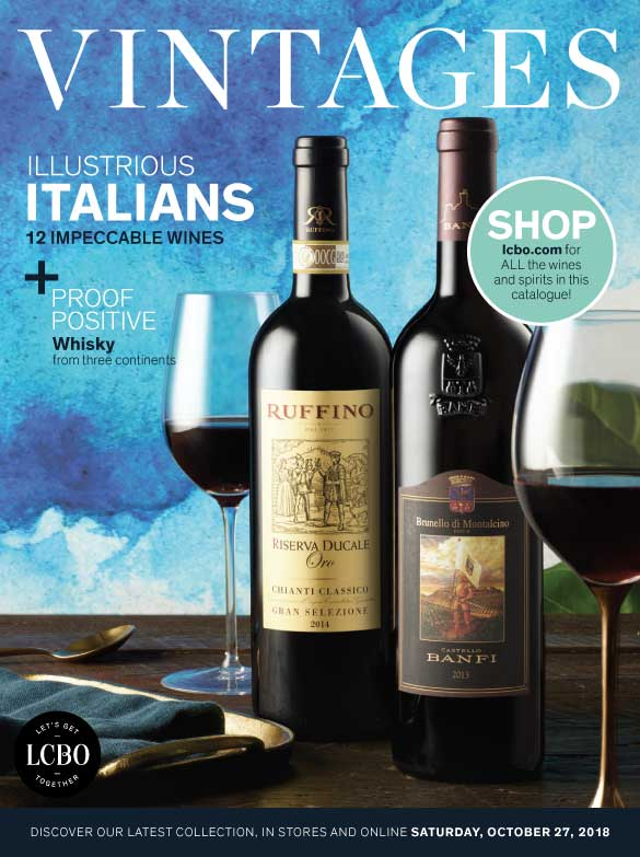 LCBO Wine Picks: October 27, 2018 VINTAGES Release