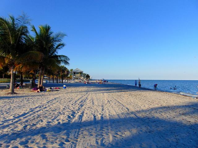 Praia Surfside em Miami