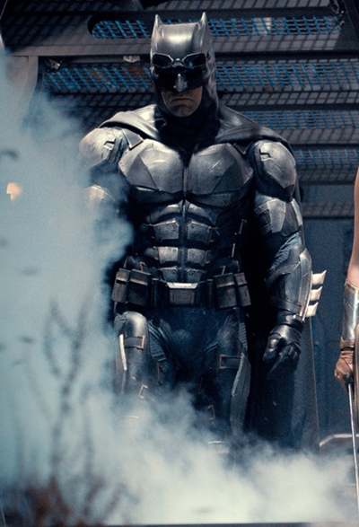 Traje armadura de Batman Ben Affleck en Justice League