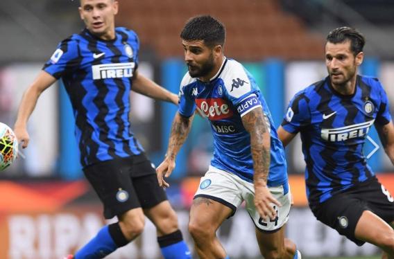 Colpi di Lautaro e D'Ambrosio: l'Inter vince 2 a 0 contro il Napoli