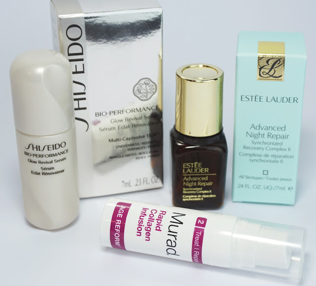 Aufgebrauchte Kosmetik - Juni 2016 Shiseido, Estée Lauder, Murad