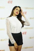 Pragya Jaiswal in lovely Black Mini Skirt and White Transparent Shirt ~  Exclusive 050.JPG