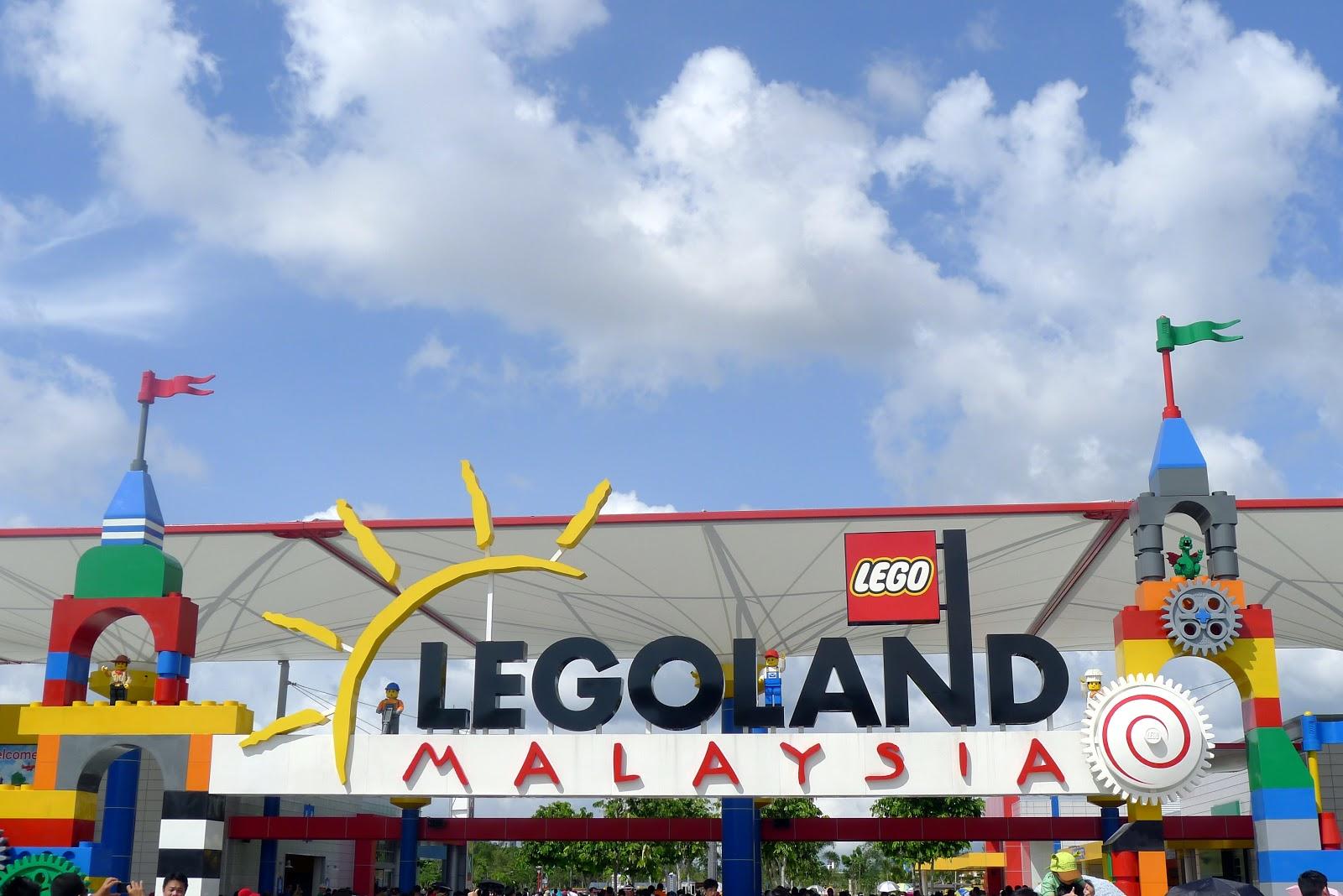 my greatest opponent: Legoland Malaysia
