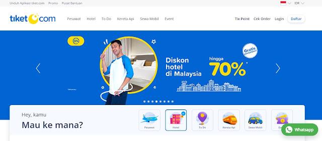 Situs Booking Hotel Online Terpercaya