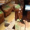 Dipenuhi Air, Rumah Bawah Tanah di Bone Jadi Kolam. Zainuddin: Selamatkan Karya Saya