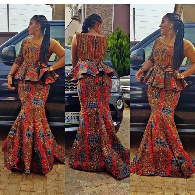 2020 Gorgeous Ankara Skirt and Blouse