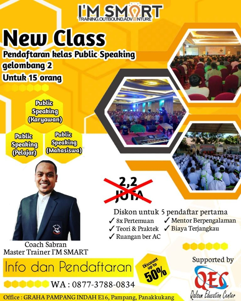 KURSUS PUBLIC SPEAKING Ang 2