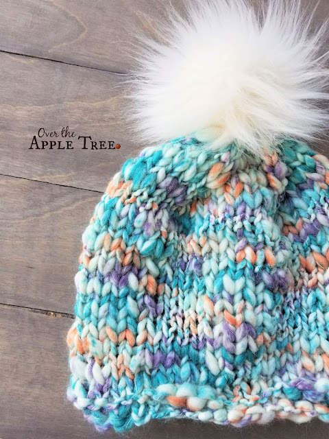 Mountain Frost Hat Pattern, Over The Apple Tree