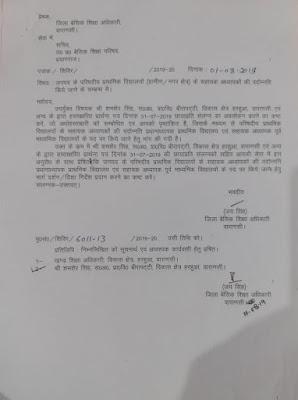 primary teacher promotion हेतु bsa varanasi ने basic shiksha parishad sachiv से मांगा निर्देश