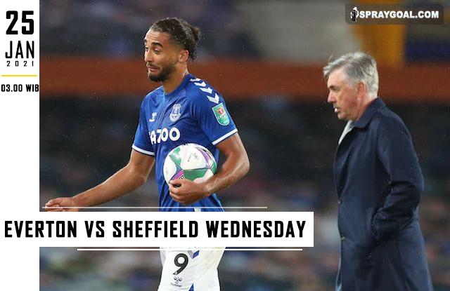Prediksi Skor FA Everton Vs Sheffield Wed Senin 25 Januari 2021